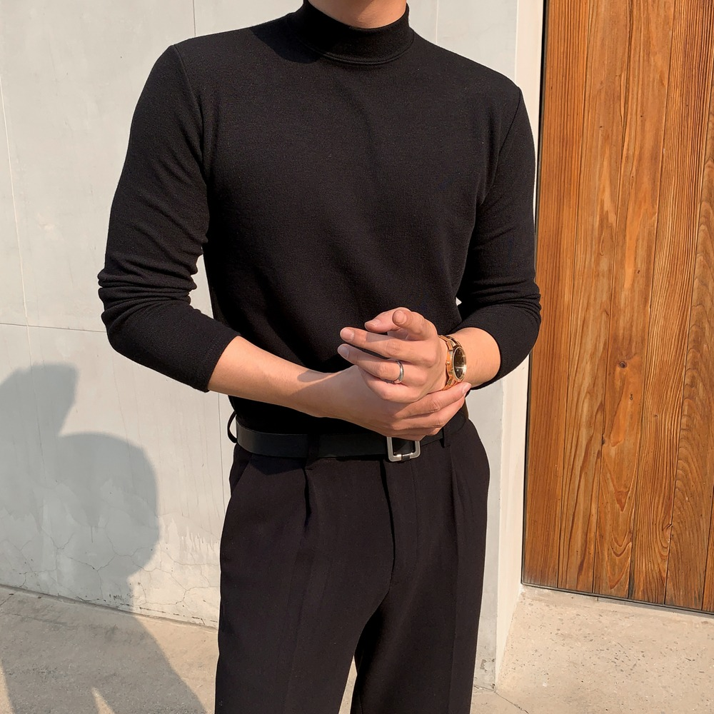 BS Standard Half Neck Turtleneck Knit