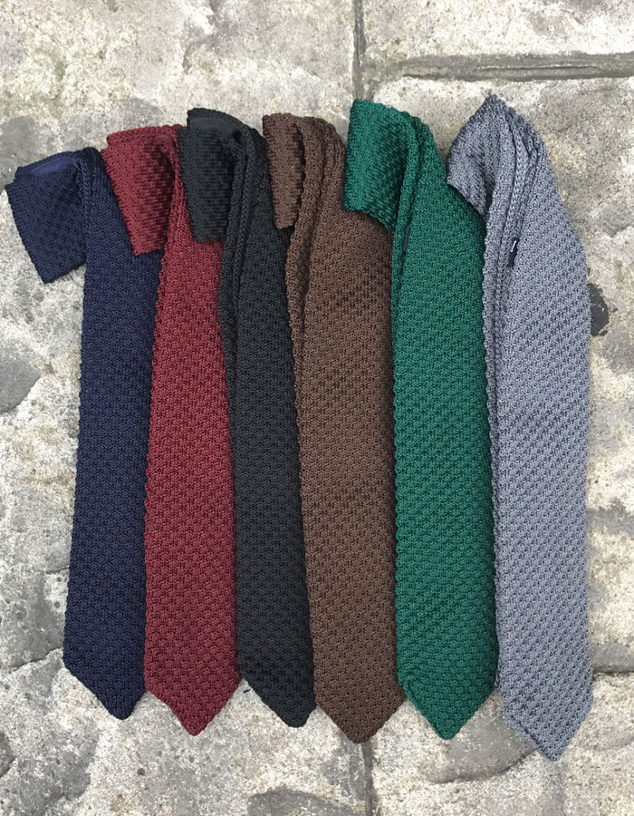 Look simple knit tie (6color)