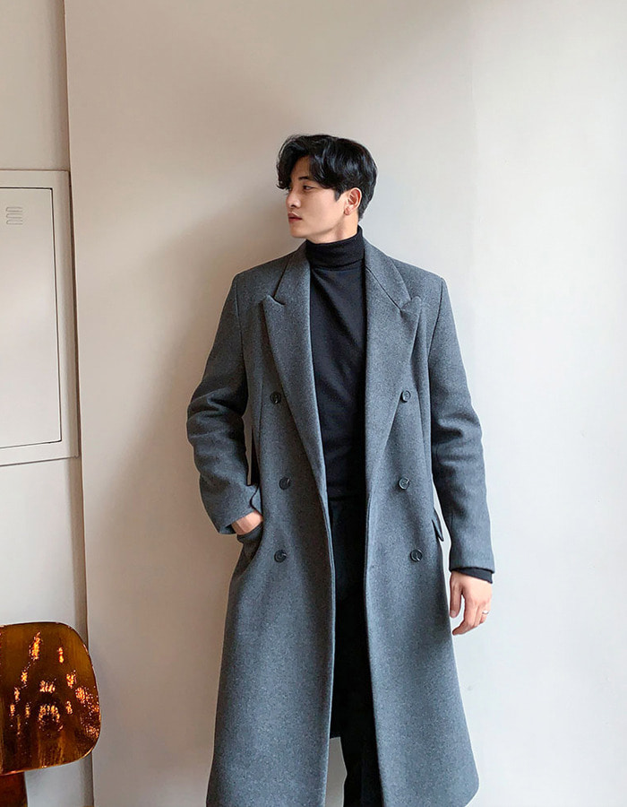NF System Basic Wool Coat (3color)