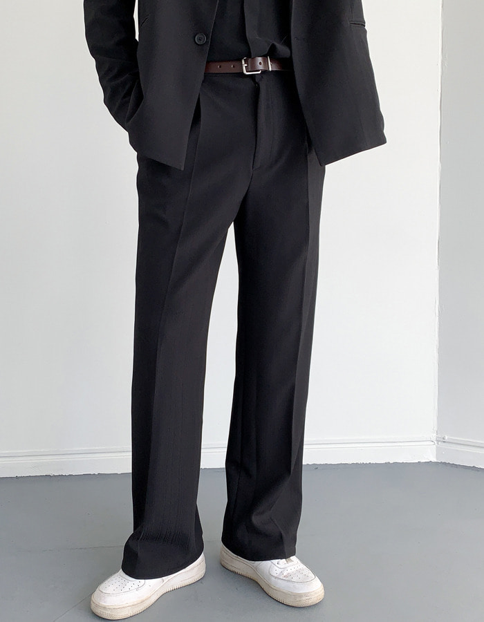 W&W Wrinkle Pleated King Wide Slacks