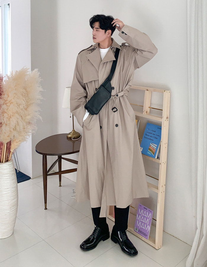 SKS Real Over Trench Coat (2color)