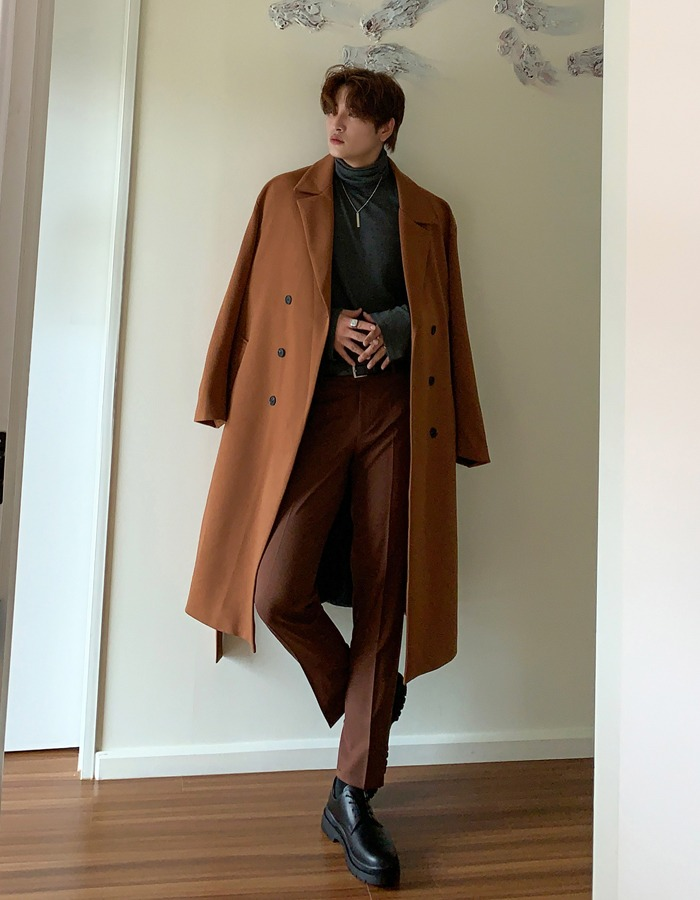 RW Camille double long coat