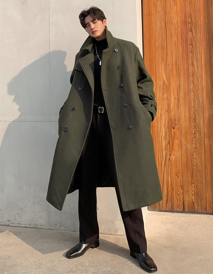 GRV Deox Wool Long Coat