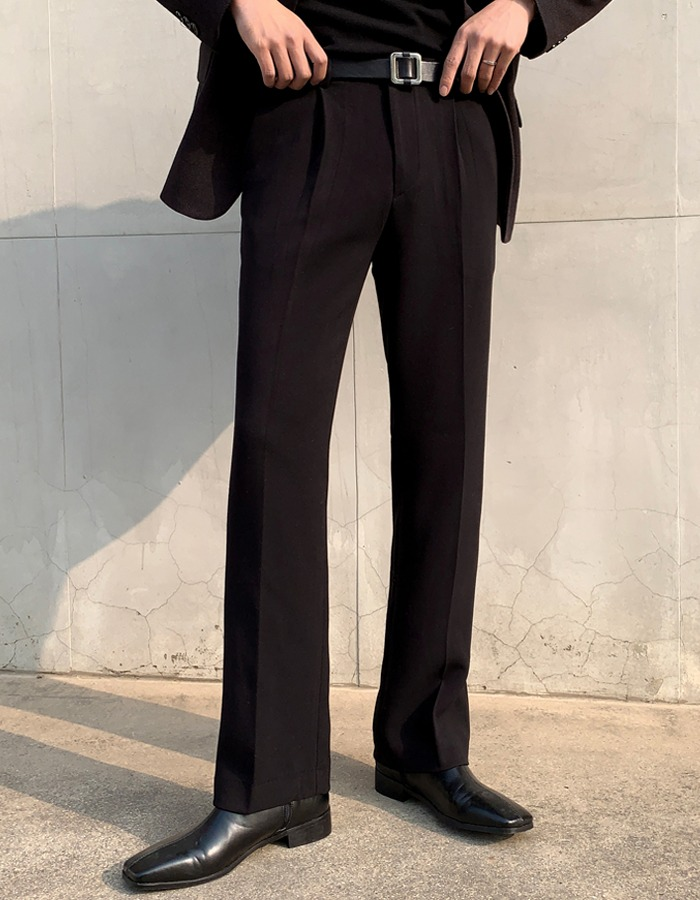 LOOKPINE Wool Semi Slacks