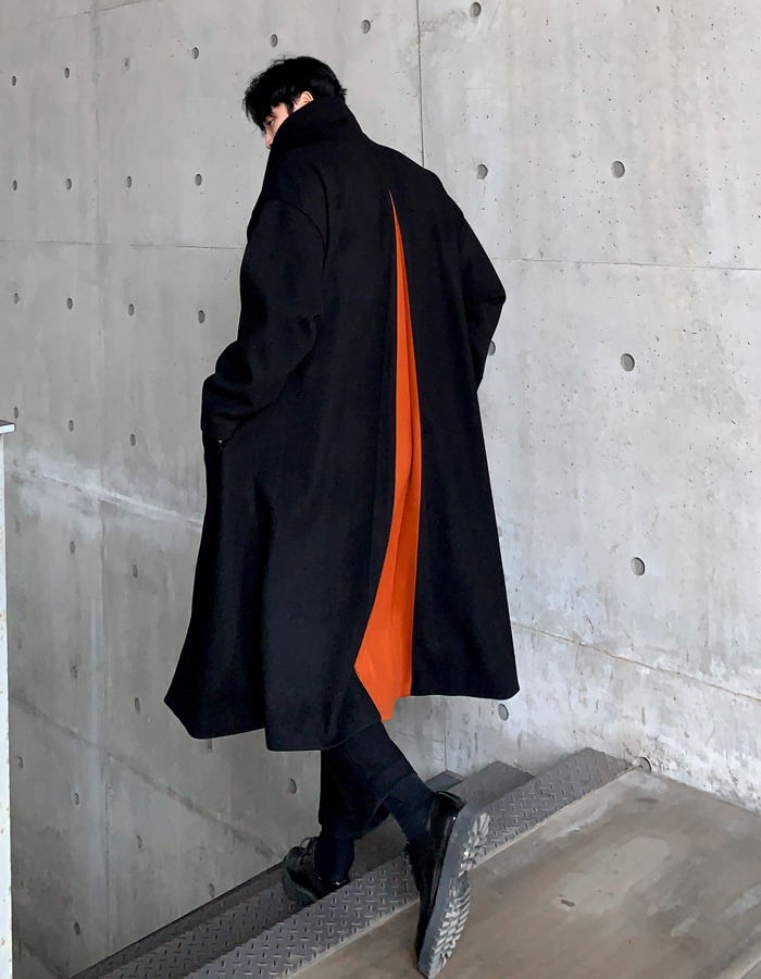 MN Lona slit hidden coat