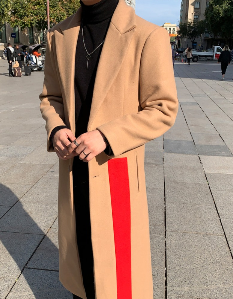 made lookpine / David block coat